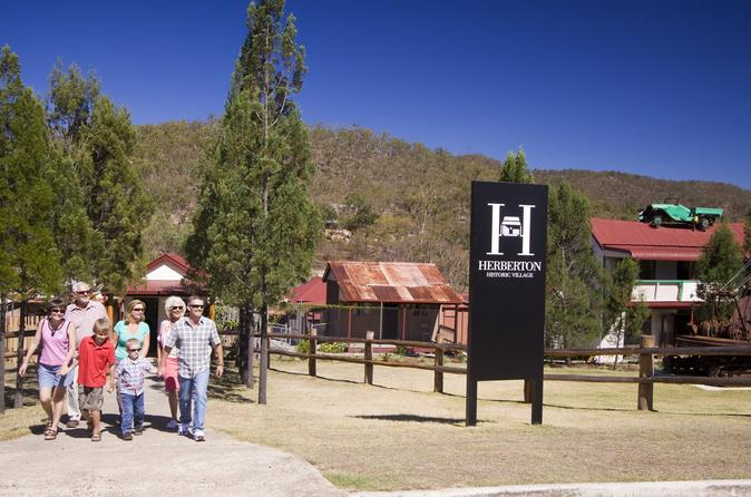 Cairns Full Day Tour Including Lake Barrine, Herberton And Granite Gorge Wallabies Park