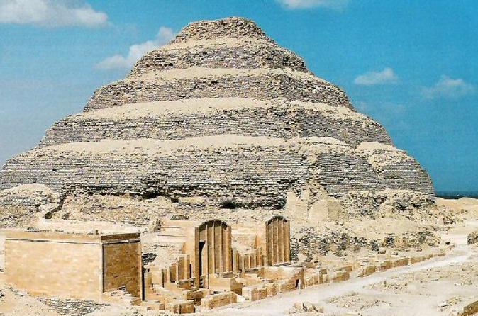 full day Sakkara , Memphis and the Giza pyramids