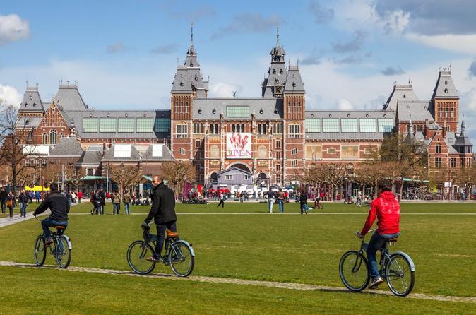 1-Hour Amsterdam Guided Bike Tour