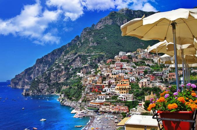 Positano, Sorrento and Pompeii Guided Tour from Naples
