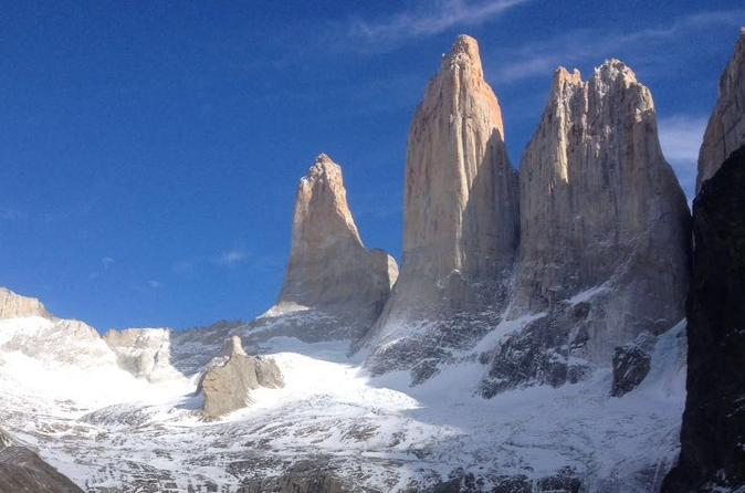 Small group advanced day hike to torres del paine towers with lunch in puerto natales 383037