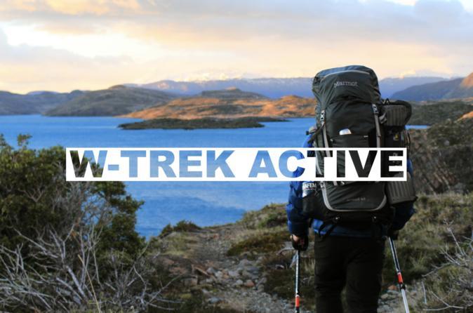 W trek active camping no frills in puerto natales 497530