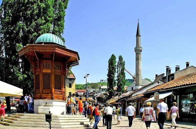 Sarajevo walking tour in sarajevo 393391