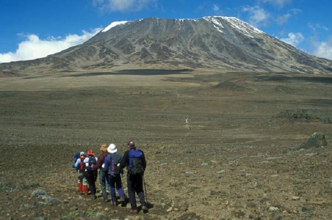 5 Day Mount Kenya Climb:Sirimon out Chogoria