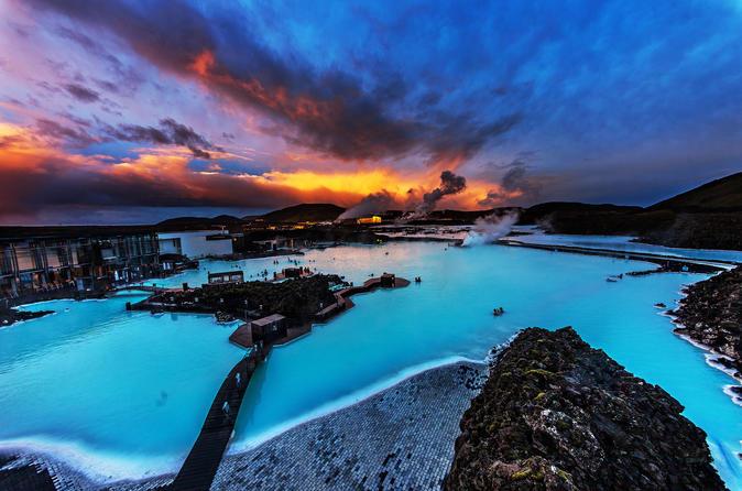 Viagem diurna Golden Circle, cratera vulcânica Kerid, e Blue Lagoon saindo de Reykjavik