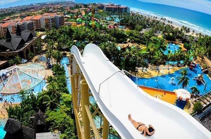 Viagem de dia inteiro ao Beach Park incluindo breve excursão por Fortaleza