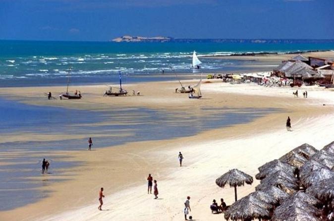 Viagem diurna de Canoa Quebrada-Morro Branco Day Trip saindo de Fortaleza