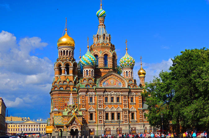 COMPLETE CITY TOUR OF ST PETERSBURG