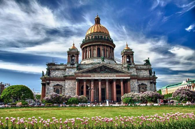 Transfer and cathedrals of St Petersburg