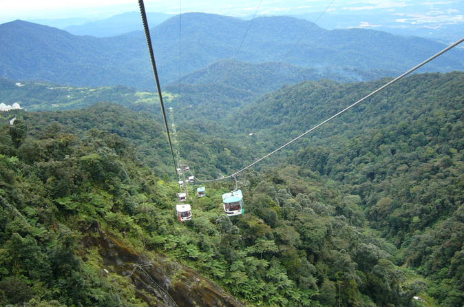 Batu Caves And Malaysia Casino Genting Highlands With Cable Car
