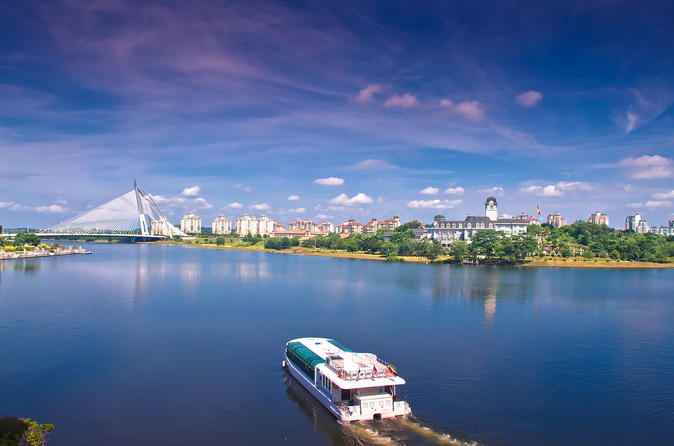 Putrajaya Tour with Boat Cruise and Lunch at Putra Lake - Visit Prime Minister Office with Putra Mosque and Pink Mosque""