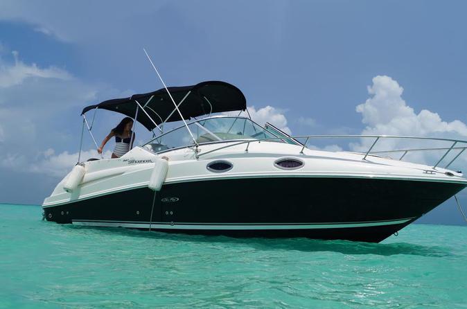 Private Boat Ride Adventure To Isla Mujeres - Cancun