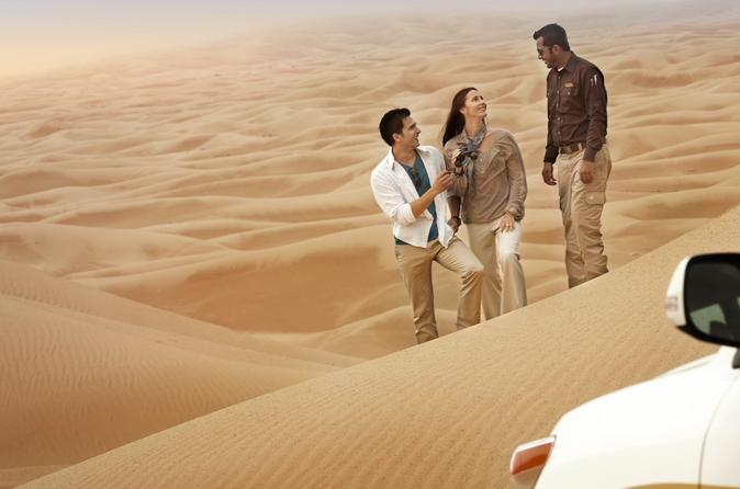 All-inclusive Morning Dune Drive in the  Dubai Desert Conservation Reserve