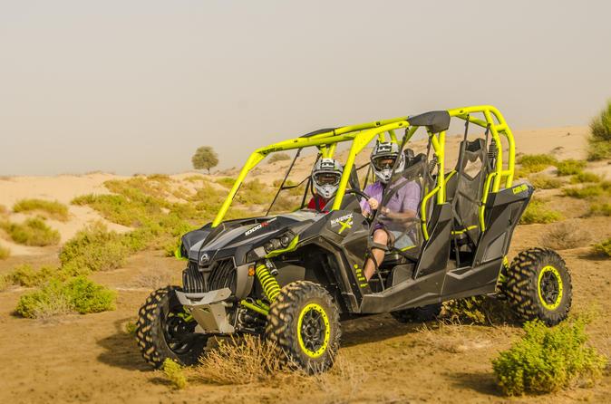 Dubai Desert Dune Buggies - Driver Experience