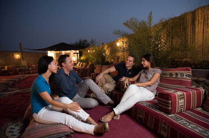 Sundowner Dune Dinner Safari in the Dubai Desert Conservation Reserve