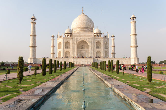 Day Trip To Agra From Delhi Including Taj Mahal And Agra Fort By Fast Train