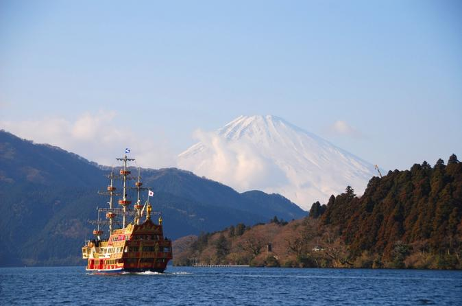 Tokyo Mt Fuji Day Trip: Pirate Ship of Lake Ashi, Sledding Experience and Gotemba Premium Outlets including Buffet Lunch Japan, Asia