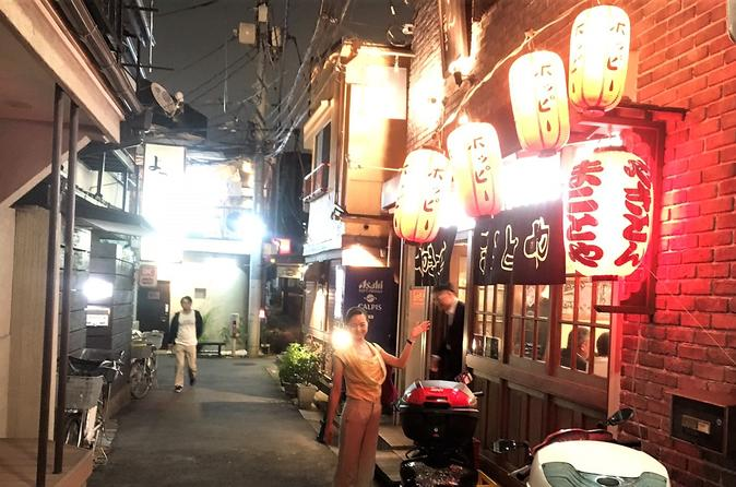 Tokyo Hidden Izakaya and Sake Small-Group Pub Tour with Guide