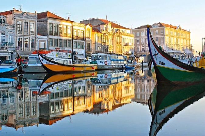 Aveiro and Coimbra Beauty and History Tour