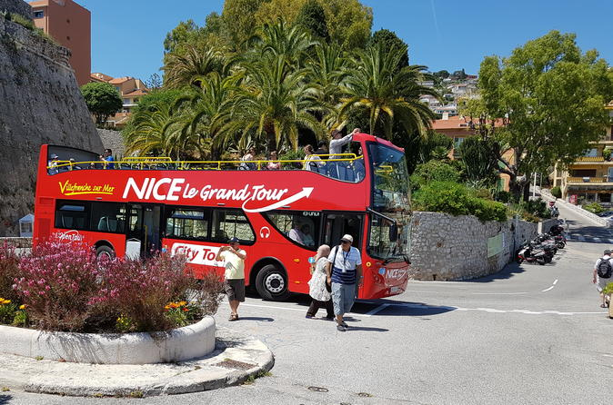 Nizza Le Grand Tour Hop-on-Hop-off-Besichtigungstour