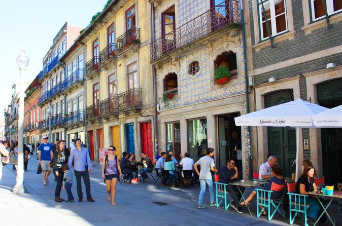Excursão a pé pelo centro da cidade de Porto