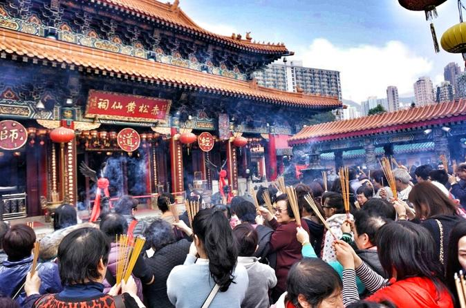 8-Hour Private Customized Walking Tour in Hong Kong