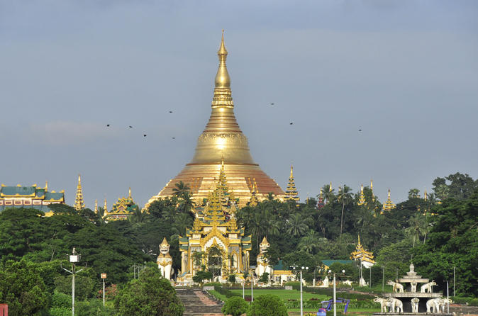 Morning in Yangon