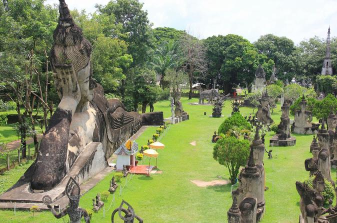 Visit Vientiane City and Buddha Park full day tour