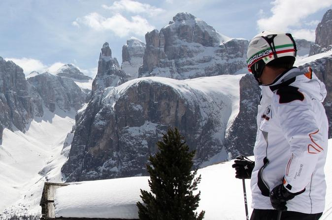 Private Ski Tour In The Dolomites: The Sella Ronda