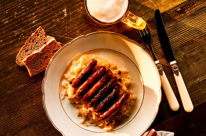 Nuremberg Bratwurst Cooking Class with Lunch