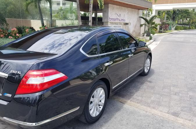 Breathless Resort Luxury Sedan Round Trip Transfers Montego Bay Airport