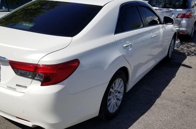 Excellence Oyster Bay Luxury Car Round trip transfers Between MBJ Airport
