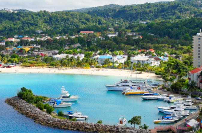 Jamaica Dunn's River Falls And Ocho Rios Sightseeing Tour