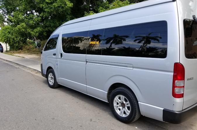 Montego Bay Private Van Fifteen Passenger Day Trip Explorer