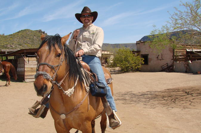A Day In The Old West Adventure including Horseback Ride and Cowboy Lunch