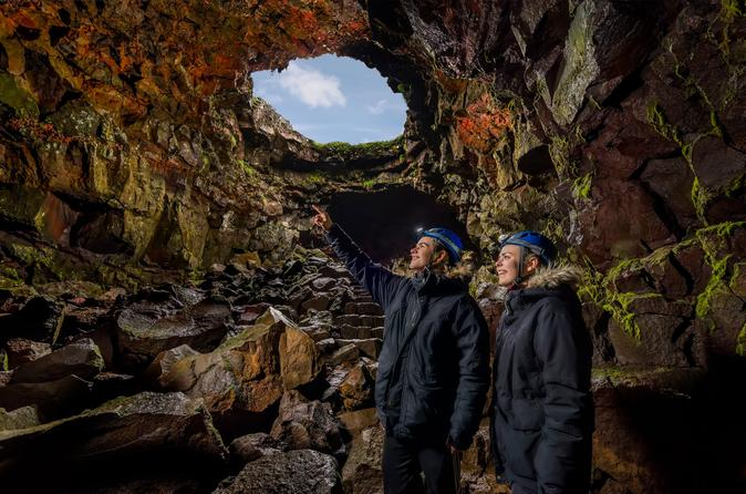 Small-Group Lava Tunnel Caving Tour from Reykjavik