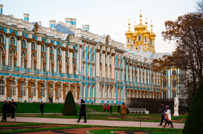 Best of the Best 2-day Tour Including St Petersburg, Peterhof, Catherine's Palace