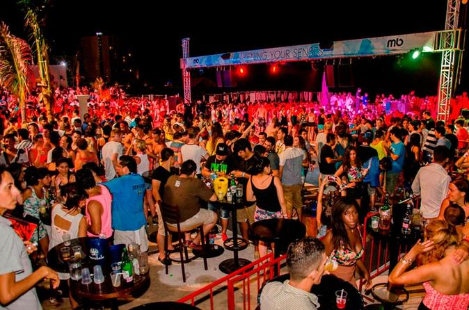 Enjoy A Vip Night At The Mandala Beach Club In Cancun Your Ticket Includes Skip Line Entrance No Fees And An Open Bar All Long