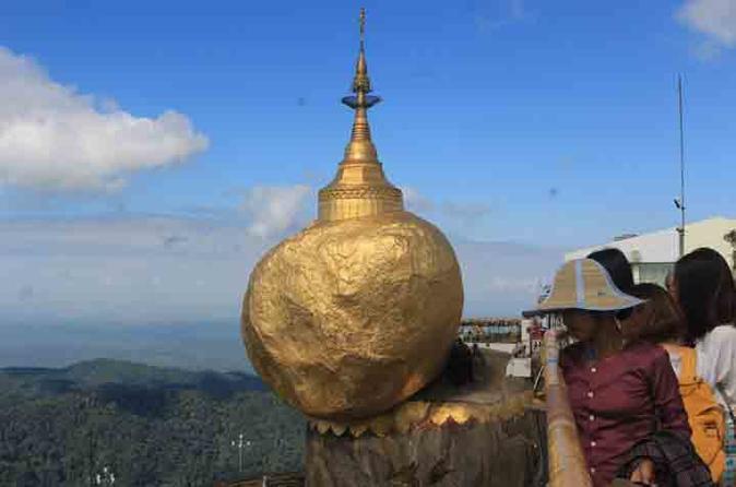 Small-Group Tour: Kyaiktiyo Pagoda and Bago from Yangon with Lunch