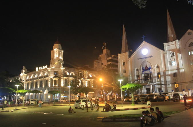 Private Yangon Sightseeing Walking Tour Including Lunch