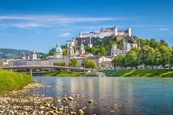 Excursão turística em Salzburgo saindo de Munique de trem