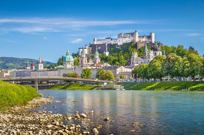 Salzburg Sightseeing Day Trip from Munich by Rail