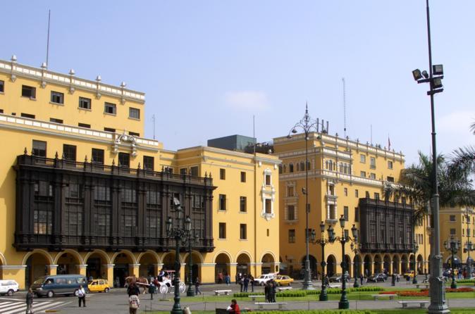 Full-Day Lima City Tour Plus Pachacamac Archaeological Site