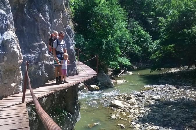 Walking Tour In The Varghis Canyon With Optional Rock Climbing And Caving Possibilities - Brasov