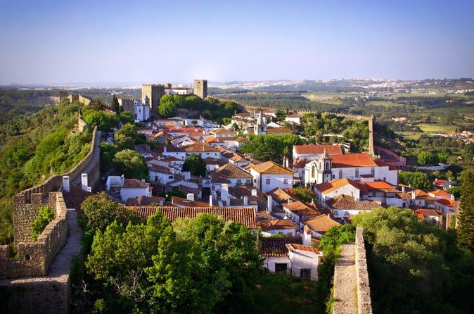 Medieval towns of Óbidos from Lisbon with delicious Lunch