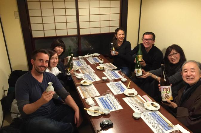 Sake tasting in takayama in takayama 484707