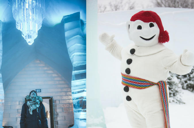 Ice Hotel Cocktail package & Winter Carnival VIP pass