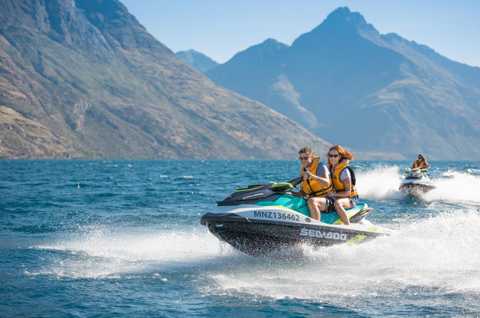1-Hour Guided Self-Drive Jet Ski Tour From Queenstown
