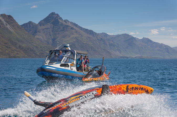 Hydro Attack Boat Trip and Shark Ride in Queenstown