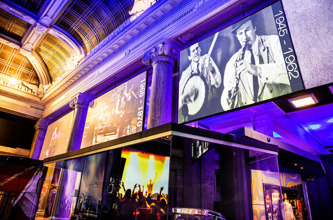 British Music Experience: The National Museum of Popular Music Admission Ticket